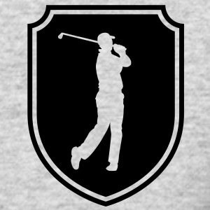 golfer emblem Long Sleeve Shirts - Men's Long Sleeve T-Shirt by Next Level