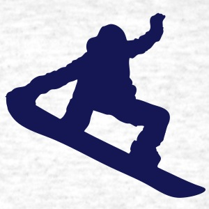 Snowboarder Silhouette T-Shirts - Men's T-Shirt