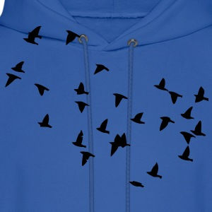 Flock of Birds Hoodies - Men's Hoodie