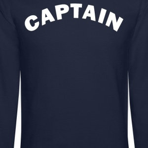 CAPTAIN  Long Sleeve Shirts - Crewneck Sweatshirt