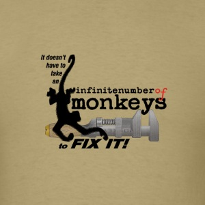 monkeywrench fix - Men's T-Shirt