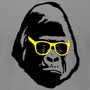 Gorilla Glasses T-Shirts - Men's T-Shirt by American Apparel