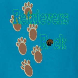 Retrievers Rock Kids' Shirts - Kids' T-Shirt