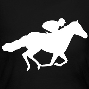 Race Horse Long Sleeve Shirts - Women's Long Sleeve Jersey T-Shirt