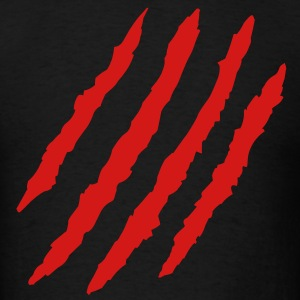 Claw Marks T-Shirts - Men's T-Shirt