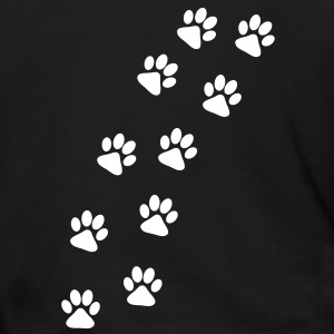 Dog Paw Track Zip Hoodies/Jackets - Men's Zip Hoodie