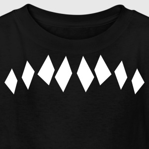 decorative uneven diamonds for a sweater Kids' Shirts - Kids' T-Shirt