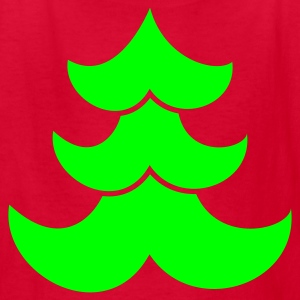 temple Christmas curly tree Kids' Shirts - Kids' T-Shirt