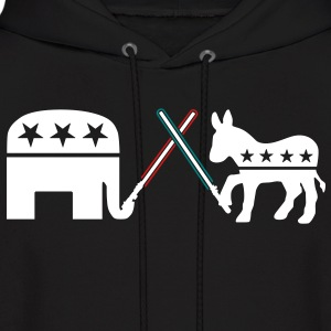 Republican Democrat Jedi Hoodies - Men's Hoodie