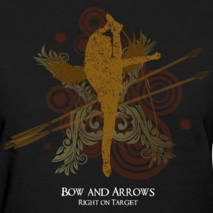 Cheerleading Bow and Arrows - Women's T-Shirt