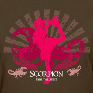Cheerleading Scorpion T Shirt - Women's T-Shirt