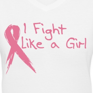 Breast Cancer Survivor - Women's V-Neck T-Shirt