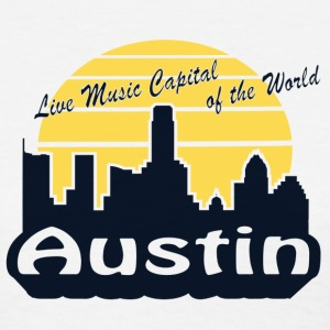 Austin skyline - Women's T-Shirt