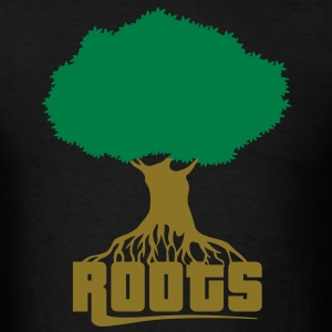 Tree and roots flex T-Shirts - Men's T-Shirt