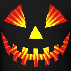Pumpkin head flex T-Shirts - Men's T-Shirt