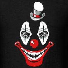 Scary clown T-Shirts