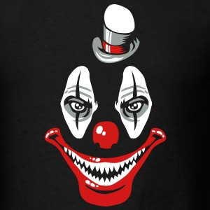 Scary clown T-Shirts - Men's T-Shirt