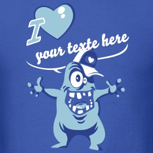 Monster Love ... T-shirts - T-shirt pour hommes
