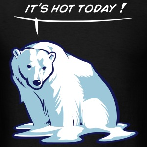 Melting bear T-Shirts - Men's T-Shirt