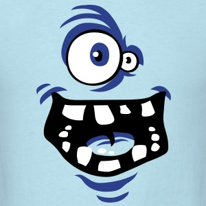 Funny monster face T-Shirts - Men's T-Shirt