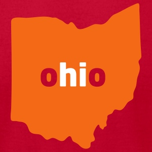 Hi, Ohio (Cleveland Browns) - Men's T-Shirt by American Apparel