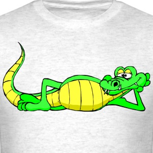Lazy Alligator T-Shirts - Men's T-Shirt