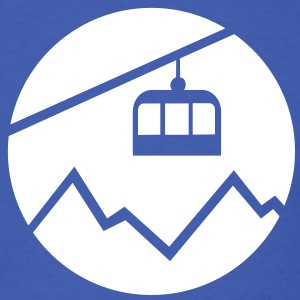 Cable car mountains T-Shirts - Men's T-Shirt