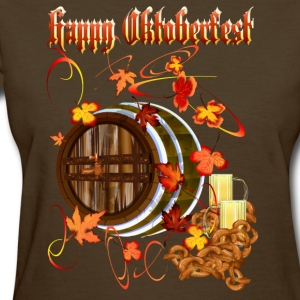 Big Beer-Happy Oktoberfest - Women's T-Shirt