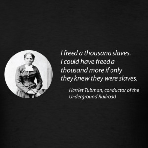 Harriet Tubman vs the Matrix Men's Tee - Men's T-Shirt