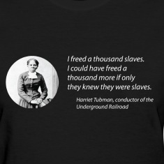 Harriet Tubman vs the Matrix Women''s Tee