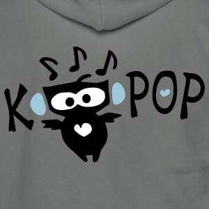 Love KPOP txt owl vector art Unisex Fleece Zip Hoodie by American Apparel - Unisex Fleece Zip Hoodie by American Apparel