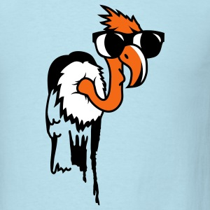 Vulture with a cool black sunglasses T-Shirts - Men's T-Shirt