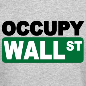 occupy wall st Long Sleeve Shirts - Crewneck Sweatshirt