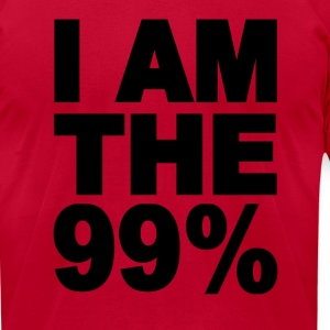 I am the 99% Occupy Wall St T-Shirts - Men's T-Shirt by American Apparel