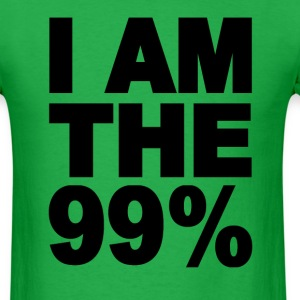 I am the 99% Occupy Wall St T-Shirts - Men's T-Shirt