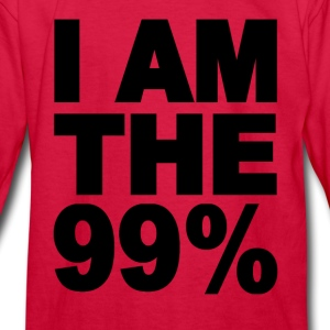 I am the 99% Occupy Wall St Kids' Shirts - Kids' Long Sleeve T-Shirt