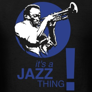 Jazz thing flex T-Shirts - Men's T-Shirt