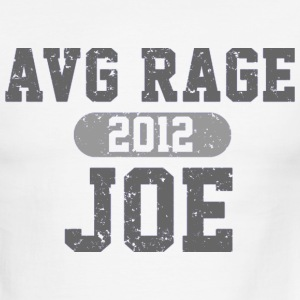 AVERAGE JOE FOOTBALL GREY  LOGO T-Shirts - Men's Ringer T-Shirt