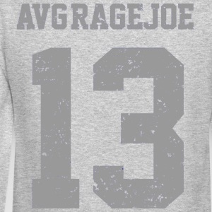 AVERAGE JOE FOOTBALL 2012 -NUMBER 13 BACK - LOGO VINTAGE LOGO SWEATSHIRT - Crewneck Sweatshirt