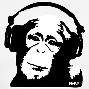 DJ Monkey (use Digital Direct) T-Shirts - Men's Ringer T-Shirt