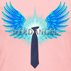 Nerd Angel Long Sleeve Shirts