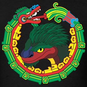 Quetzalcoatl Short Sleeve - Men's T-Shirt