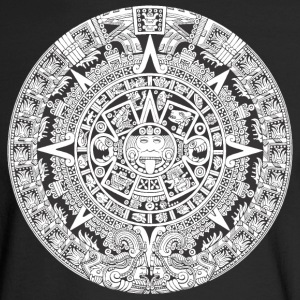 Aztec Mayan Calendar - Men's Long Sleeve T-Shirt