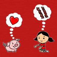 Design ~ For the Love of Bacon (Regular Cut)