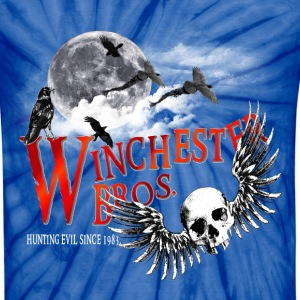 Winchester Bros Hunting Evil Since 1983 Moon T-Shirts - Unisex Tie Dye T-Shirt