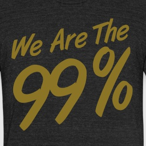 We Are The 99% T-Shirts - Unisex Tri-Blend T-Shirt by American Apparel