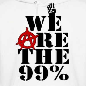 We Are The 99% Occupy Wall Street Hoodies - Men's Hoodie