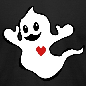 Cute Ghost T-Shirts - Men's T-Shirt by American Apparel