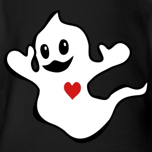 Cute Ghost Baby Bodysuits - Short Sleeve Baby Bodysuit