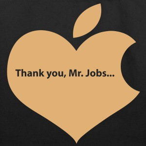 THANK YOU MR JOBS Bags & backpacks - Eco-Friendly Cotton Tote